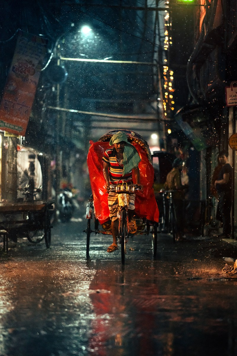 A Rainy Evening in Bangladesh