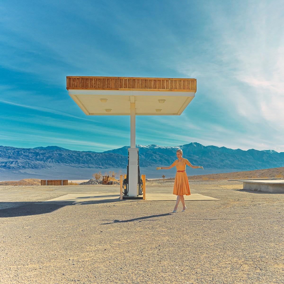 dancer in the desert