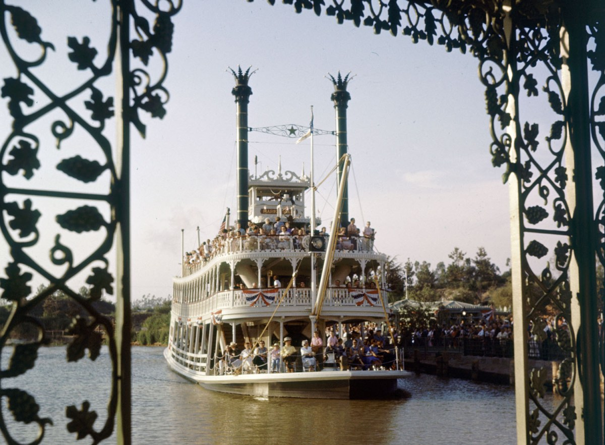 Riverboat At Disneyland