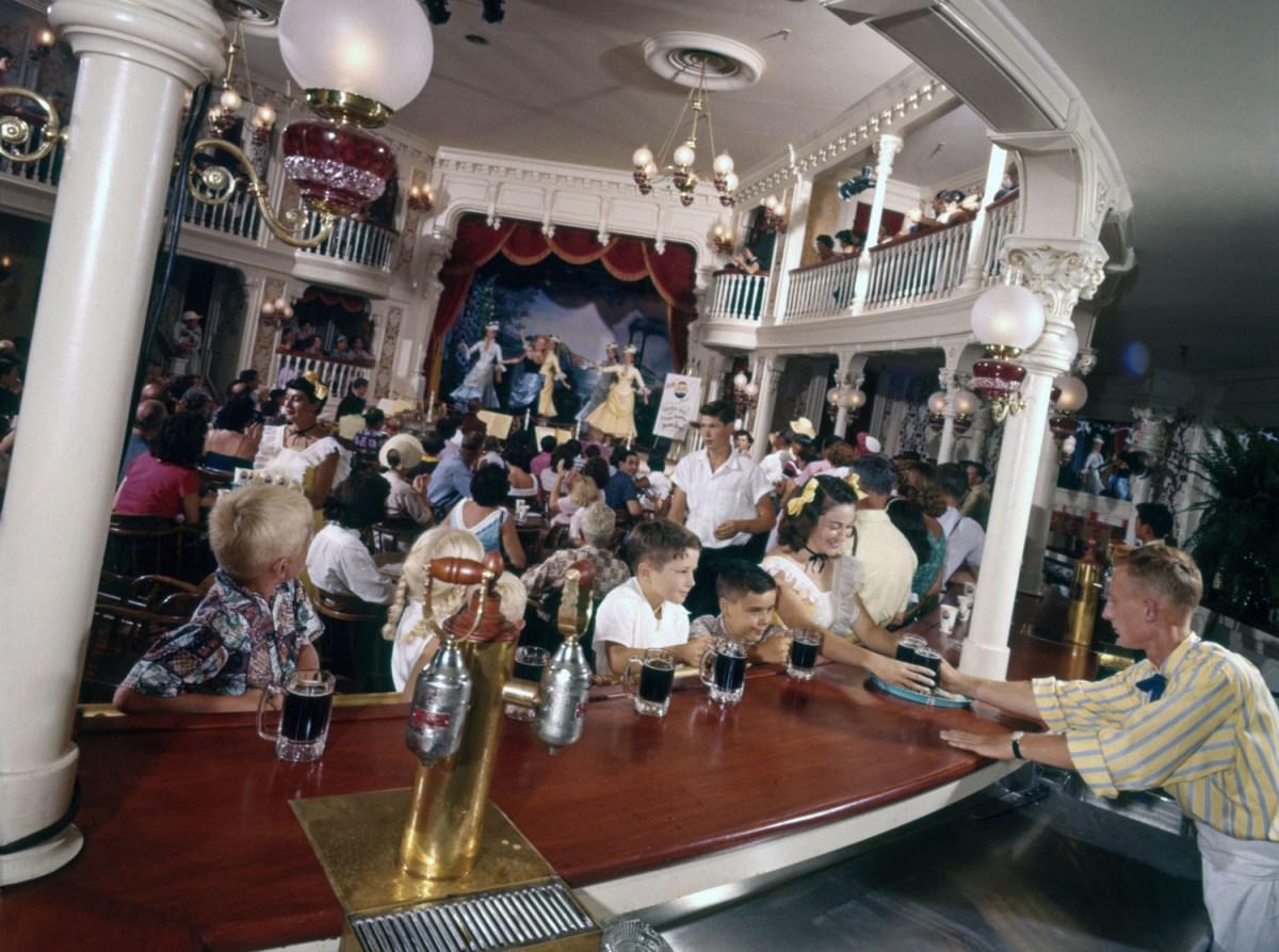 Disneyland Opening Day, 1955