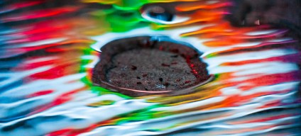 rainbow puddles by Visual Scientist