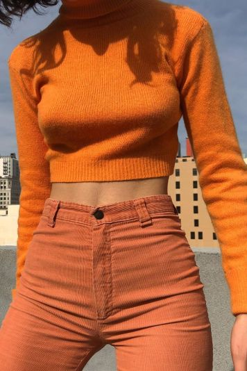 I Thought Orange Outfits Were Hideous Until I Saw These