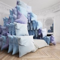 Fancy Pyramid Pillow Fort Embodies Our Global Quarantine Moment