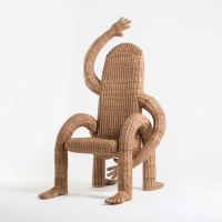 Hilariously Fun Wicker Chairs by Designer Chris Wolston