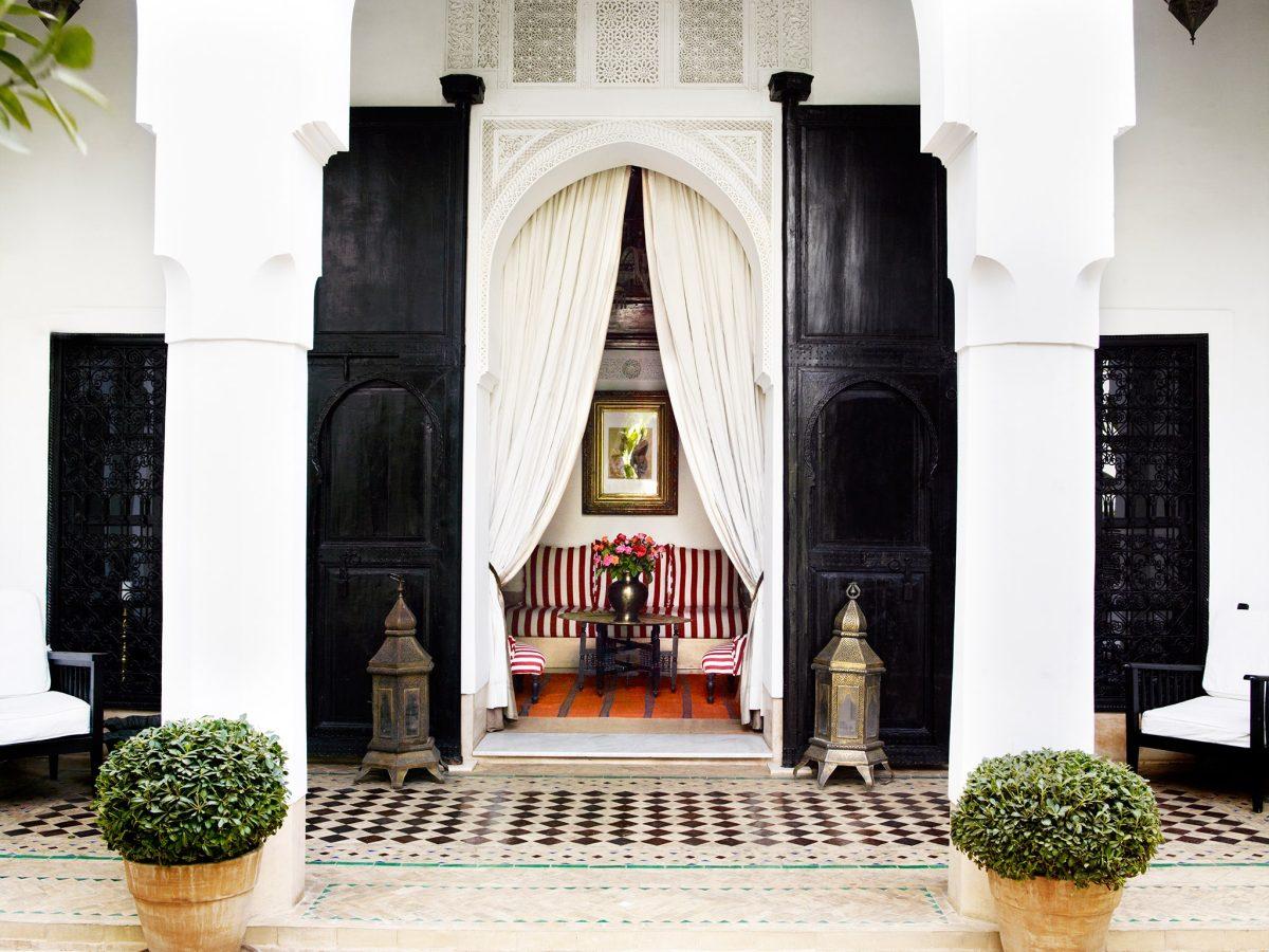Entrance-LHotelMarrakech-Morocco-CRHotel