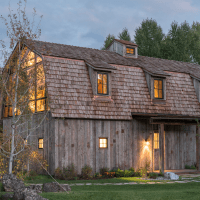 A Beautiful Barn Makeover in the Tetons
