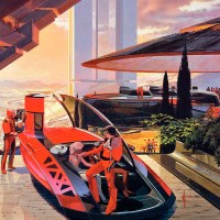 Retro Visions of Future Cars