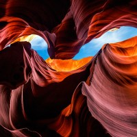 Antelope Canyon's Beautiful Curves