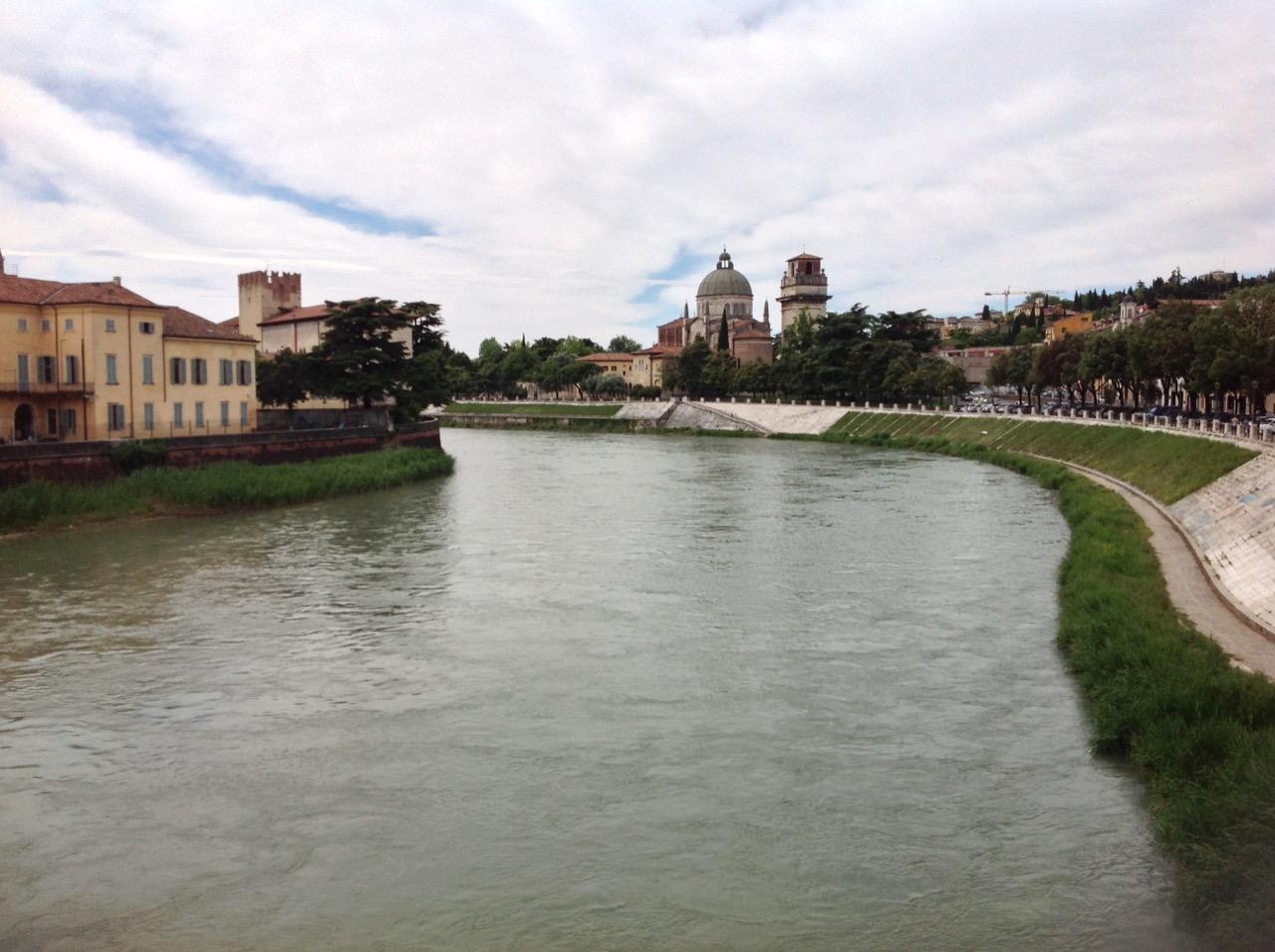 The grand river Adige