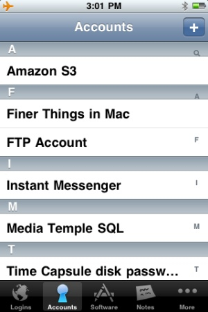 1password per iPhone
