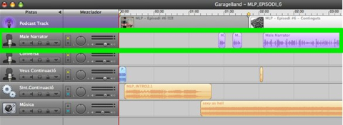 Podcasting - Garageband - Male Narrator 1