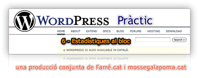 WordPress Practic 6 - Estadístiques