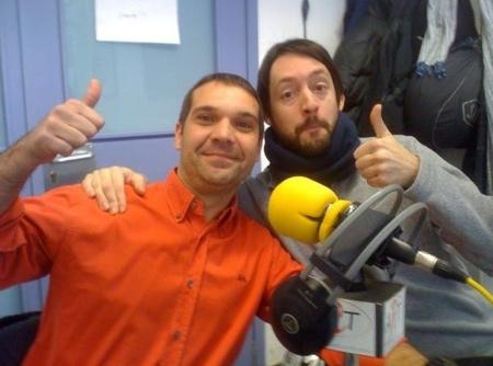 Andrés Palomino i Cels Piñol a mossegalapoma