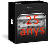 Mac 25 anys