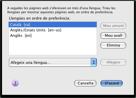 català per defecte al Firefox
