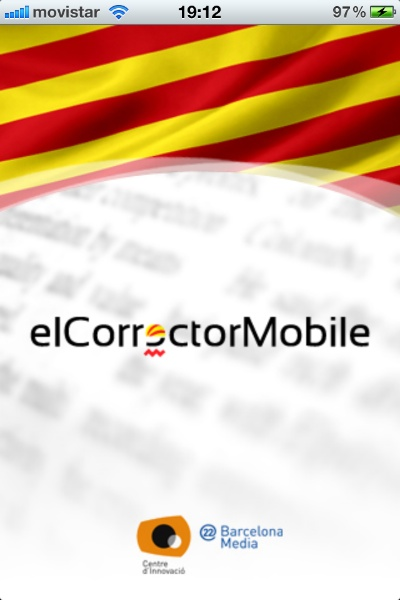 aplicació per iOS elCorrector