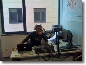 Nou estudi del podcast a Radio Art