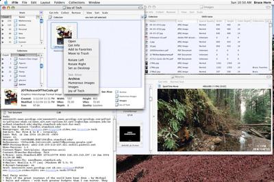 iFile Project Overview sobre recerca relacional