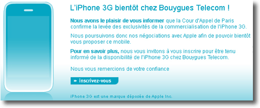 anunci iphone bouygues