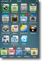 iPhone CyDelete