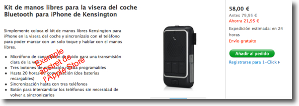 kit kesington oferta a l'Apple Store