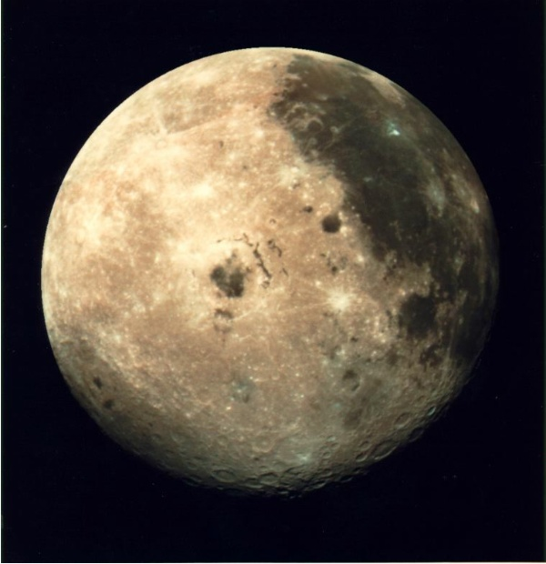 La lluna - foto original de la nasa