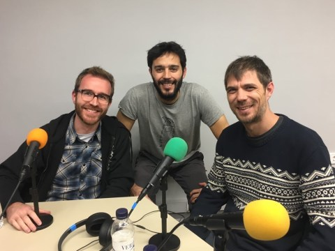 Ferran Gimenez, Raimon Lapuente, Marc Pifarré