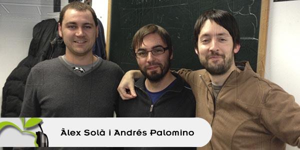 Àlex Solà i Andrés Palomino