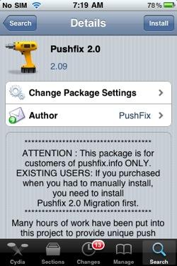 Push Fix 2.0