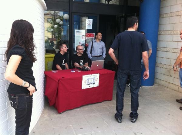 JornadesApple Ulldecona - Recepció d'assistents