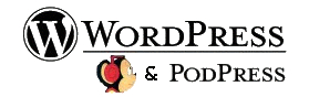 PodPress logo