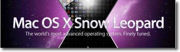 Snow Leopard a WWDC'09