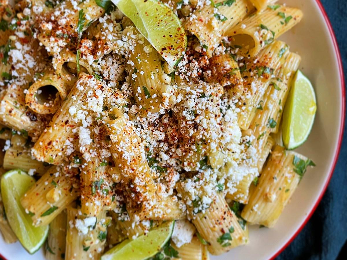elote pasta salad