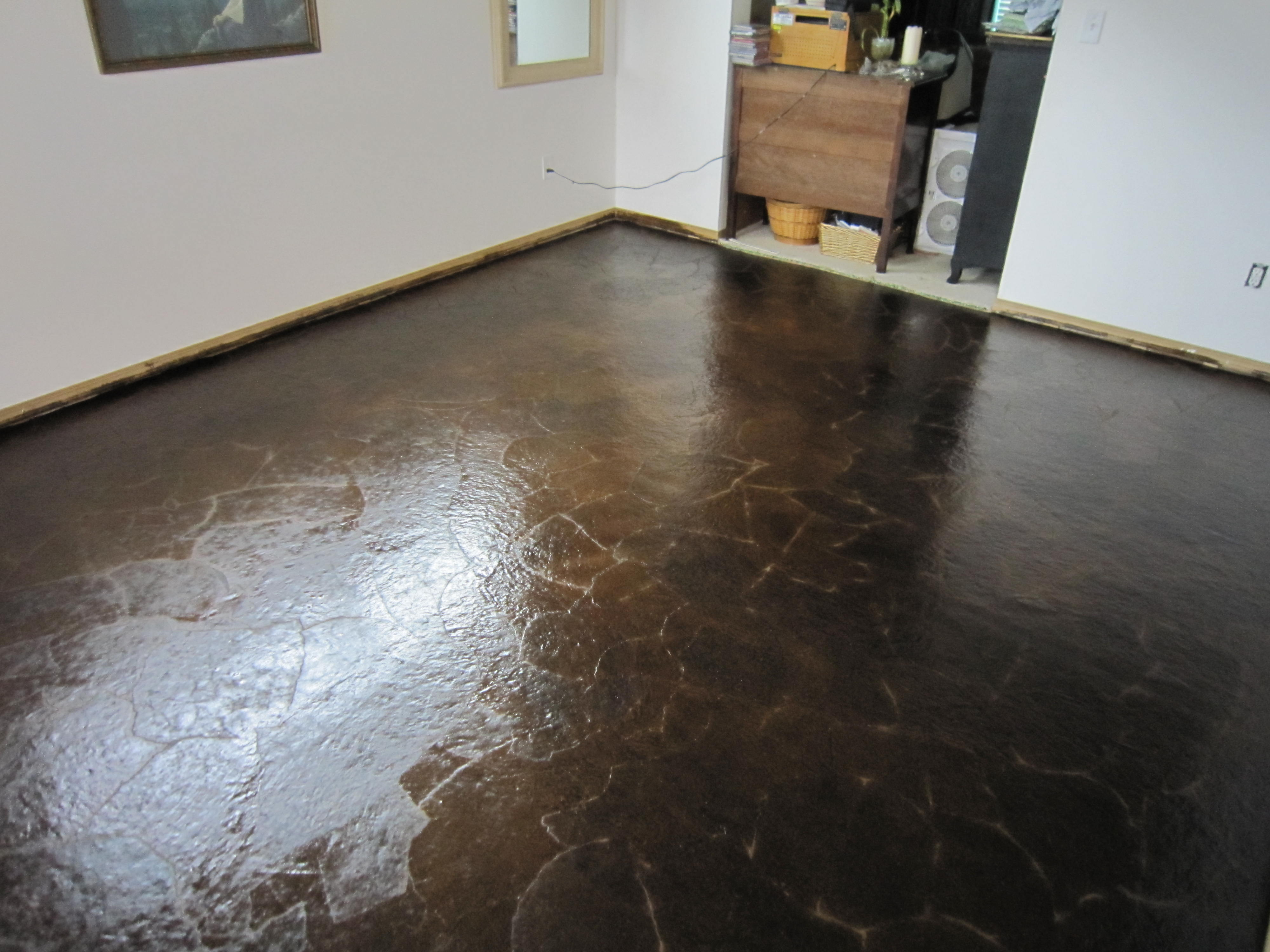 DIY Brown Paper Floor AwesomenessRoom 2 Complete with Mistakes  Oooh I Could Totally Do That