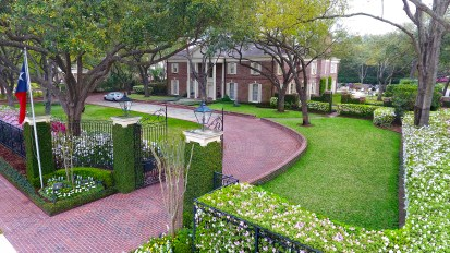 Georgian Estate Gardens – River Oaks, Houston