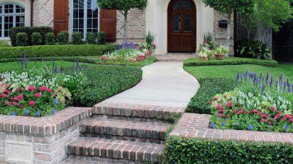 Brick Tudor Gardens   River Oaks, Houston