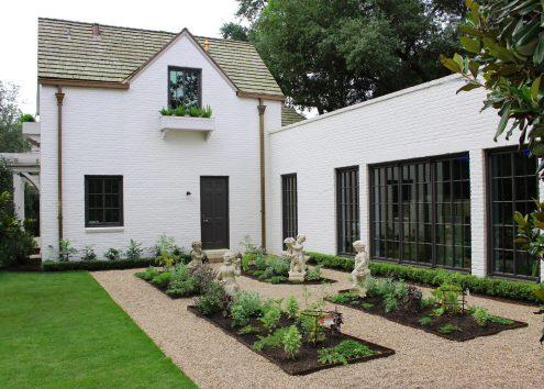 Inwood Gardens - Herb Garden After