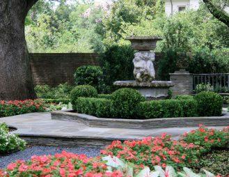 Longfellow Gardens - Central Fountain