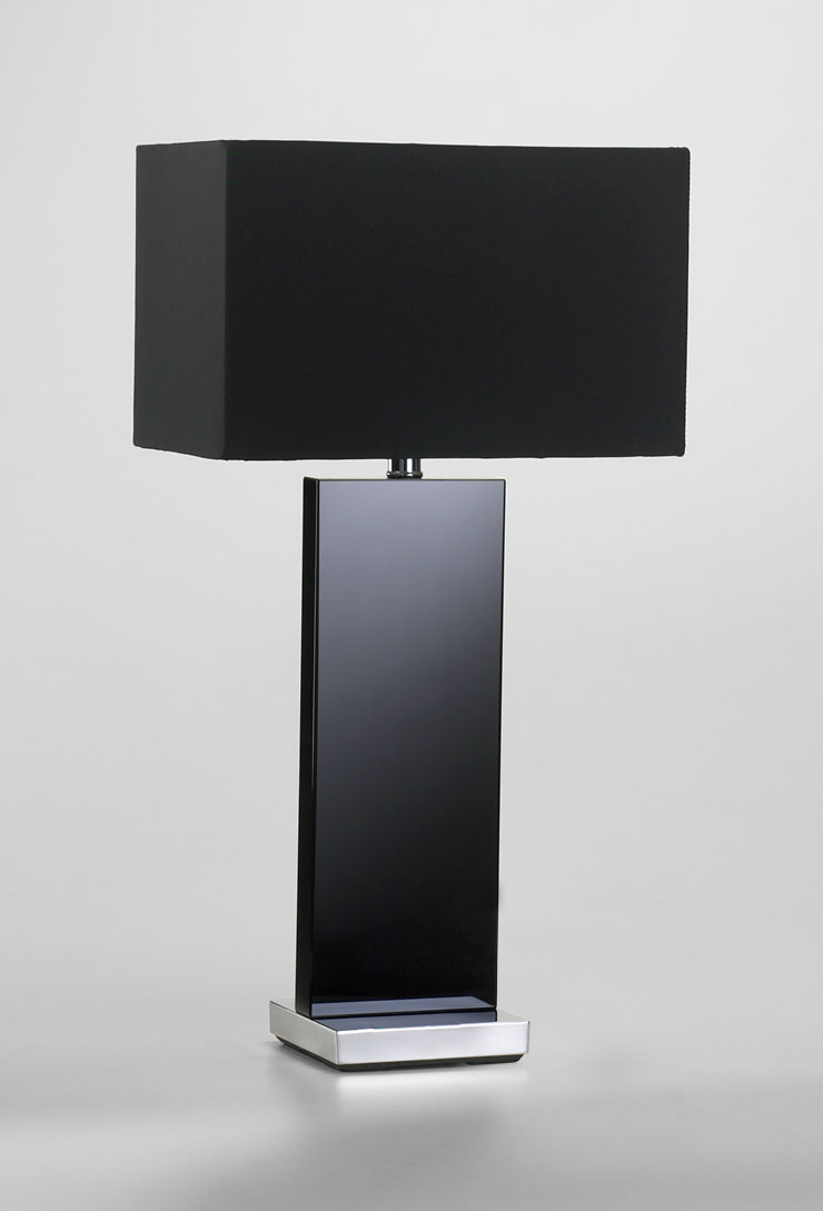 Vista Black Table Lamp  MOSS MANOR A Design House