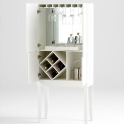 White Bistro Chairs Designer Chair Covers To Go Croydon Hideout Bar Cabinet | Moss Manor: A Design House