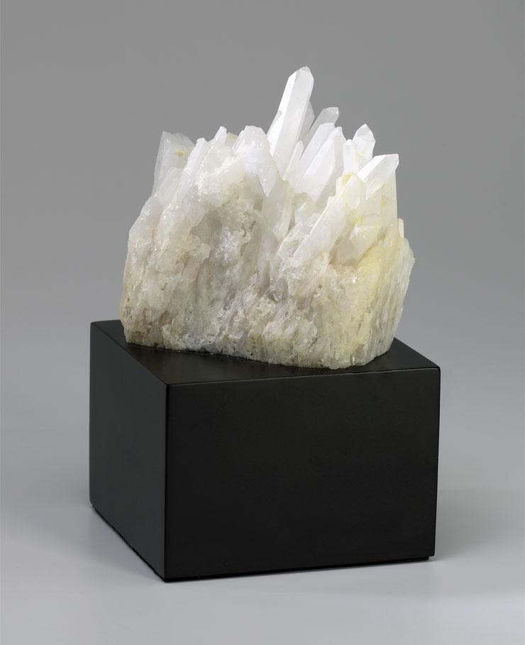 Quartz Crystal Table Sculpture  MOSS MANOR A Design House