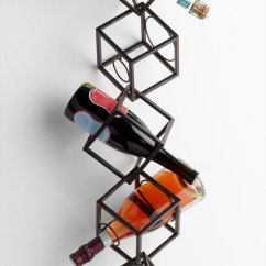 Colorful Desk Chairs Pool Chair Cushions Dali Modern Wine Rack | Moss Manor: A Design House