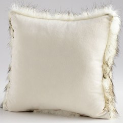 Accent Chairs For Living Room Under 200 Ideas To Furnish A Small Luxe Faux Fur Pillow | Moss Manor: Design House