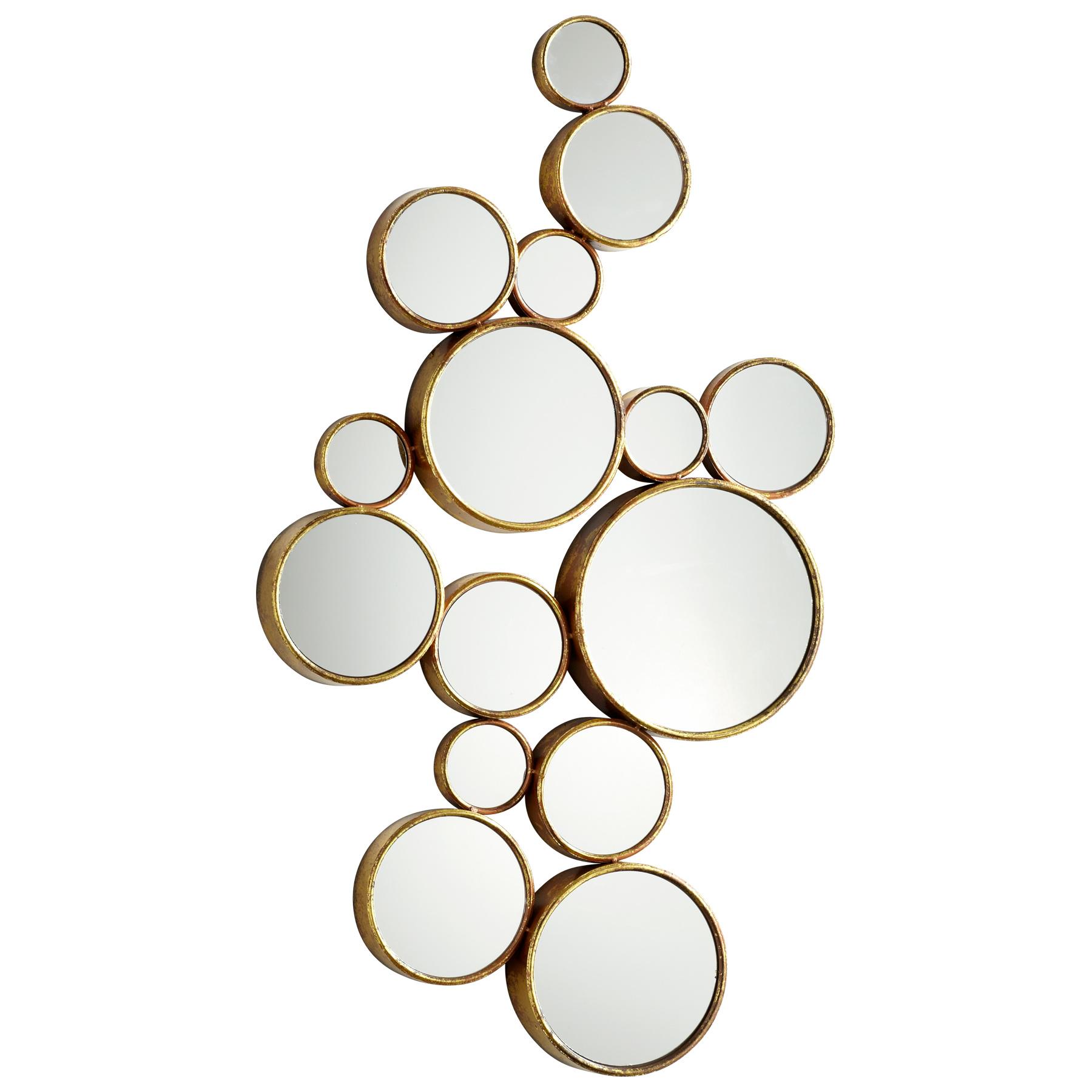 Bubbles Mirror  MOSS MANOR A Design House