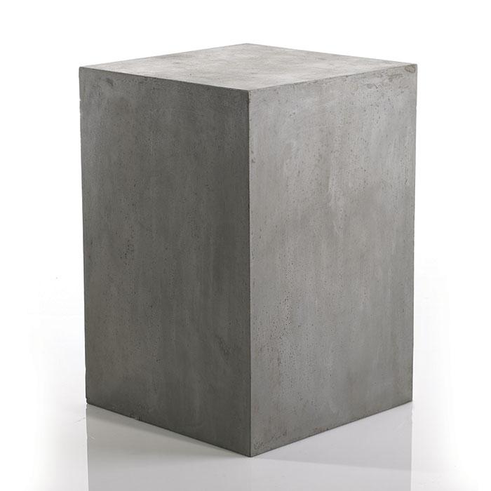 Newport Concrete Outdoor Table Base  MOSS MANOR