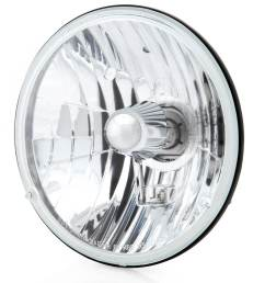 7 inch crystal clear halogen headlight [ 1200 x 1200 Pixel ]