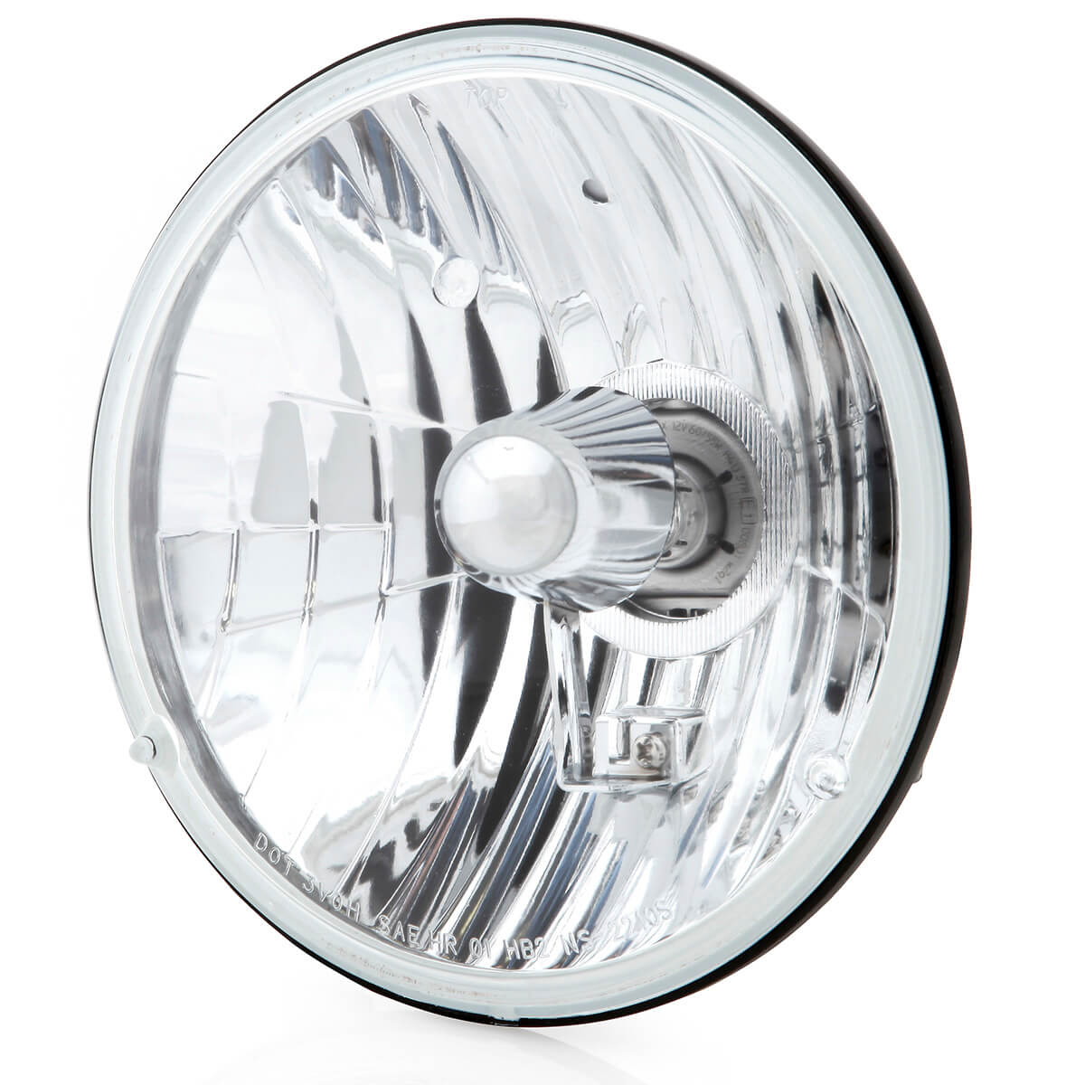 hight resolution of 7 inch crystal clear halogen headlight