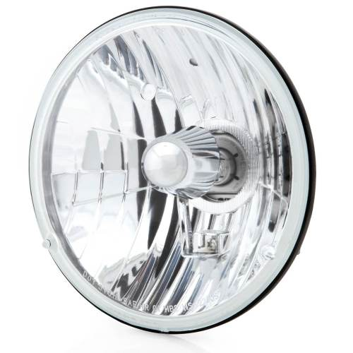 small resolution of 7 inch crystal clear halogen headlight