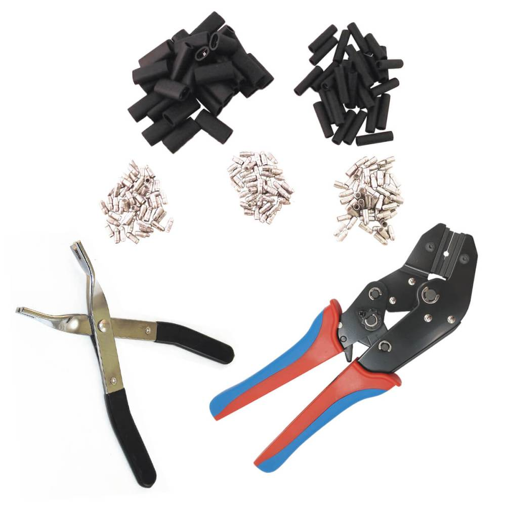 medium resolution of wire harness repair kit with tools