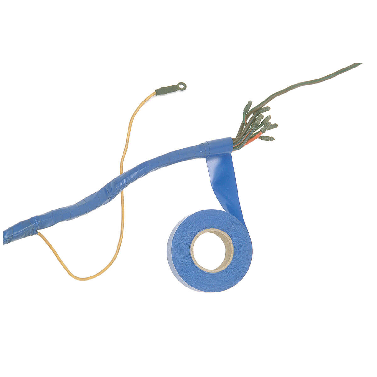hight resolution of wiring harness tape blue